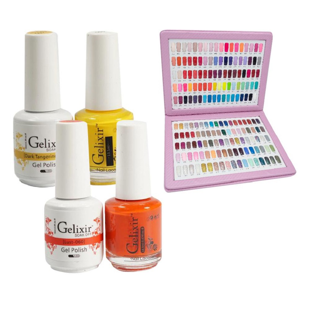 How to Choose the Best Gelixir Gel Polish Colors for Summers?